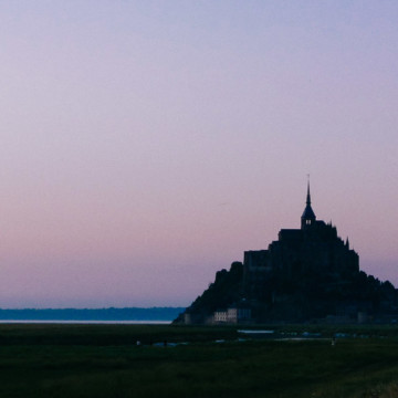 Mont St Michel, France, Travel Photography, Vin Images